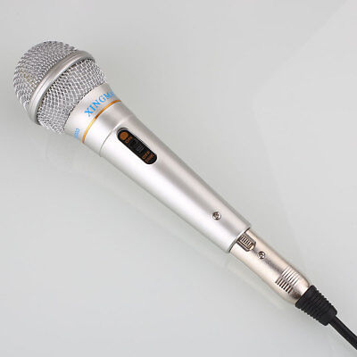 Professional Vocal Handheld Dynamic Microphone Mic For Karaoke DJ Music Speech