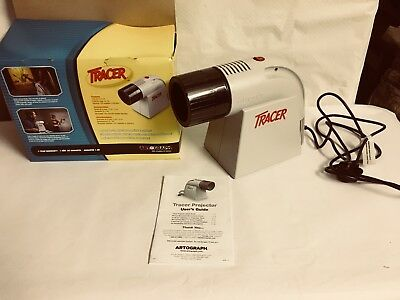 Autograph Tracer Projector Model 225 - 460 Drawing Design Enlarge Trace Art - BG
