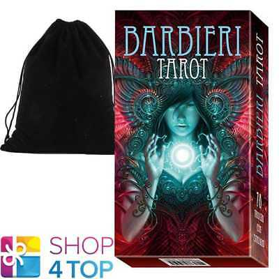Barbieri Tarot Deck Cards Lo Scarabeo Esoteric Fortune With Velvet Bag New