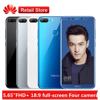 "Huawei Honor 9 Lite 5.65"" 4G Smartphone 4+32Go 4*Camera 13MP Android8.0 OctaCore"