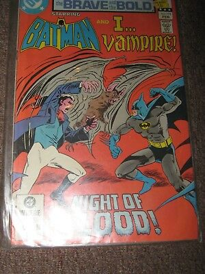 Brave and the Bold 195 (with Batman & I Vampire DC Comics)
