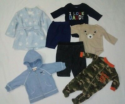 7 Pc Lot Infant Boys Fall Clothes Size 0-3 months Baby Gap Carters. Gymboree