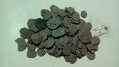 20  Ancient Roman Cull Coins Uncleaned & Extra Coins Added