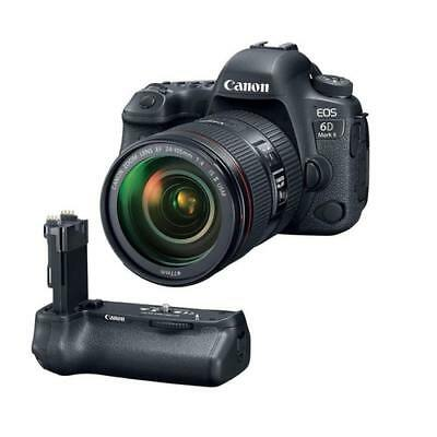 New Canon Eos 6D Mark Ii Dslr With Ef 24-105Mm F/4L Is Ii Usm Lens - With Can...