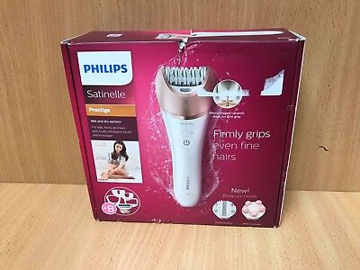 Philips BRE650/00 Satinelle Prestige Wet and Dry Epilator OL 86655