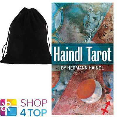 Haindl Tarot Cards Deck By Hermann Haindl Esoteric Us Games Systems Velvet Bag