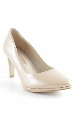 affc589a0943 BUFFALO LONDON High Heels beige Casual-Look Damen Gr. DE 39 Pumps Leder
