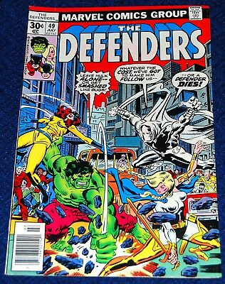 The Defenders 49 July 1977 from Marvel Comics