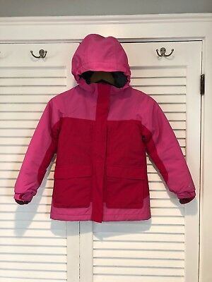 Lands End Kids Squall Parka Grow Along Coat Size 6X-7