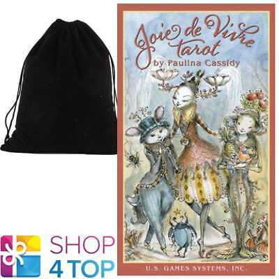 Joie De Vivre Tarot Cards Deck Esoteric Us Games Systems With Velvet Bag New