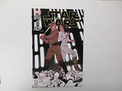 Marvel Star Wars  # 1 Buy Me Toys Variant Luke Leia Jenny Frison