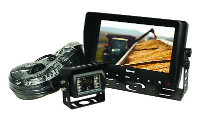 "7"" Lcd Reversing Camera Kit, Suitable For Tractor, Lorry & Caravans"
