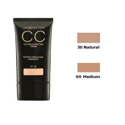 Max Factor CC Colour Correcting Cream SPF 10 30ml - New - Freee UK Delivery