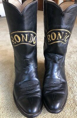 Rare Champion Boot Co Rondo Soda Hand Made Cowboy Boots 1978 Museum Quality