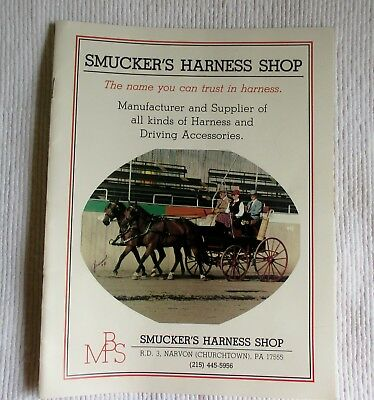 Smucker's Harness Shop 1985-86  Catalogue, Churchtown, PA