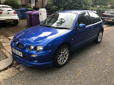 BLUE MG ZR, 2002, 3 Door Hatchback