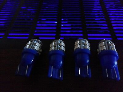 6 wedge leds royal blue fits pioneer sx580 680 780 880 950 980 1050 mor