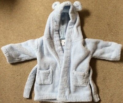 The Little White Company Baby Boy Robe 0-6 Months