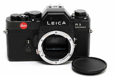 Leitz Leica R3 Electronic camera body black SLR 35mm