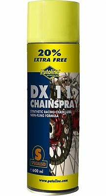 Putoline DX11 Motorcycle Chain Lube 600ml for Motocross Enduro Trail Road Use