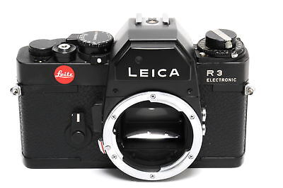 Vintage Leica R3 MOT Electronic camera body black 35mm SLR