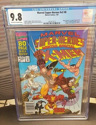 Marvel Super Heroes v2 #8 CGC 9.8 Winter Special 1ST APPEARANCE SQUIRREL GIRL