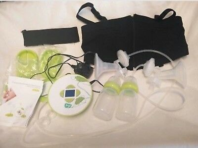 Aria Double Electric Breast Pump & Hands Free Bra