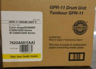 New ! Genuine Canon GPR-11 Yellow Drum Unit - 7622A001AA - Free Shipping !