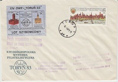 Poland - Various FDI Special Cancelled Covers (7no. All Different SC's) 1983