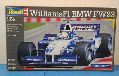 NEW REVELL Williams F1 BMW FW23 Item 07222 1/24 Scale Plastic Model Kit