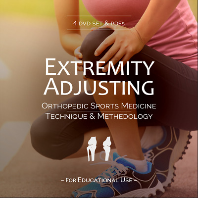Extremity Adjusting Training DVD Set - Chiropractic Orthopedic Sports Medicine