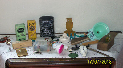 Misc Lot of Junk Drawer Items - Many Vintage