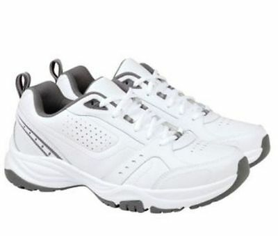 NEW - Kirkland Signature Men's Running Athletic Shoes White Gray - PICK SIZE