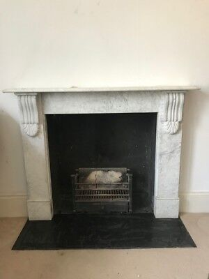 Reproduction Victorian Marble Fireplace Surround