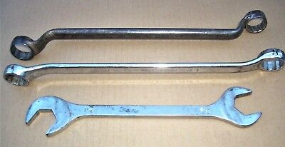 Lot Of 3 Vintage Wrenches : Cornwell, Penens Corp-Chicago & Handy Hex - U.S.A.