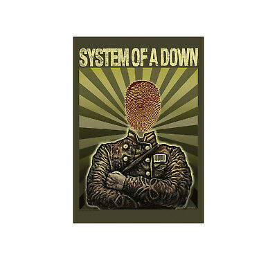 System Of A Down Soldier  Posterflagge (HFL1061)Offizielle SOAD Flagge