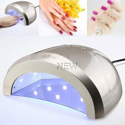 48W Professional LED UV Nail Dryer Gel Polish Lamp Light Curing Manicure Machine