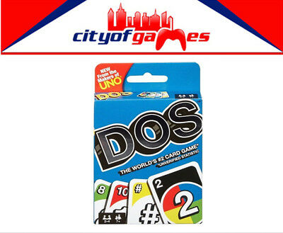 DOS Card Game Brand New From The Makers of Uno In Stock