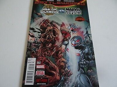 Age of Ultron vs Marvel Zombies #2 Marvel Comics 2015