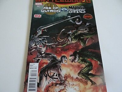 Age of Ultron vs Marvel Zombies #3 Marvel Comics 2015
