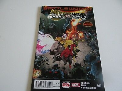 Age of Ultron vs Marvel Zombies #4 Marvel Comics 2015