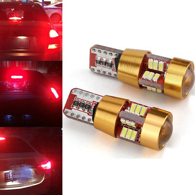 27 LED T10 6W Car Wedge Light Beads Signal Light Rear Parking Tail Stop Light