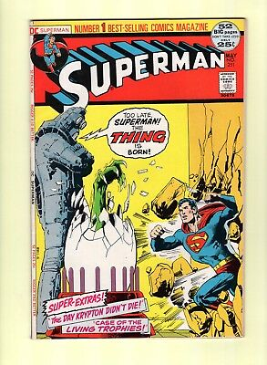 Superman #251 -  Neal Adams cover! -- --  VF-  cond.