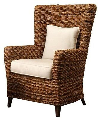 RATTAN High Back Chairs with Water Proof covered Cushions