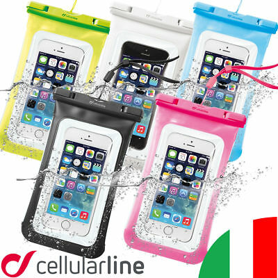 cellular line custodia impermeabile iphone 8