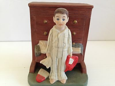 "Norman Rockwell Danbury Mint Figurine...."" Bottom Drawer  """