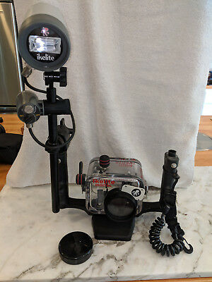 Ikelite Submersible Camera Case with DS 50 substrobe