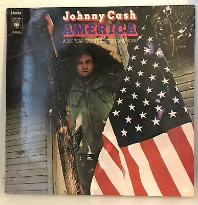 Johnny Cash , America , A 200 Year Salute In Story And Song , CBS , NL 1972