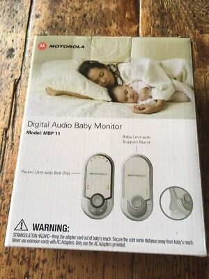 Motorola - Digital Audio Baby Monitor with Room Temperature Monitoring