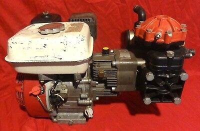 Hypro D30GRGI Diaphragm Pump and Honda GX160-Gx2 Horizontal Engine Assembly